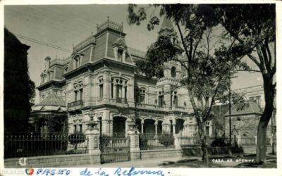 La casa Braniff-Lascuráin: Vivir frente al Ángel de la Independencia