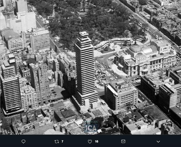 torre latinoamericana 1955